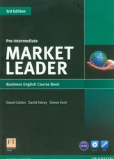 Market Leader Pre-Intermediate Business English Course Book with DVD-ROM