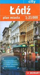 Łódź plan miasta