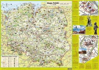 Polska dla dzieci Mapa podręczna