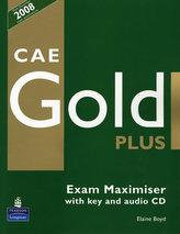CAE Gold Plus Exam Maximiser with key z płytą CD