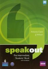 Speakout Pre-Intermediate Students' Book + DVD