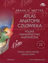 Atlas anatomii człowieka Polskie mianownictwo anatomiczne