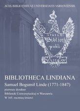 Bibliotheca Lindiana.