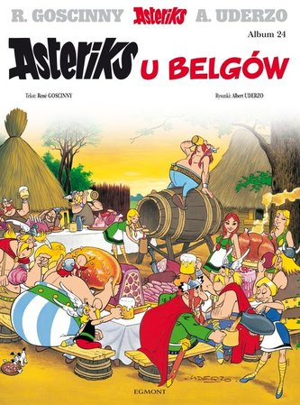 Asteriks u Belgów Tom 24
