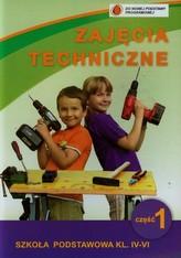 Zajęcia techniczne 4-6 Podręcznik z ćwiczeniami Część 1