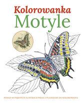 Motyle Kolorowanka