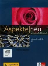 Aspekte neu Mittelstufe Deutsch Lehrbuch mit DVD B2