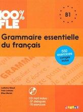 Grammaire essentielle du français B1 Książka + CD audiio