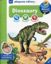 Dinozaury Maluję, zgaduję, wycinam