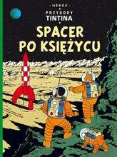 Przygody Tintina Spacer po Księżycu Ttom 17