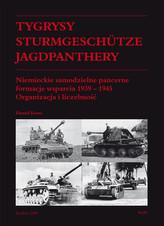 Tygrysy Sturmgeschütze Jagdpanthery Niemieckie samodzielne pancerne formacje wsparcia 1939 - 1945