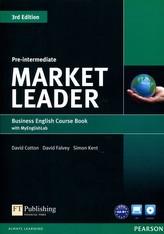 Market Leader 3Ed Pre-Intermed SB +DVD +MyEngL