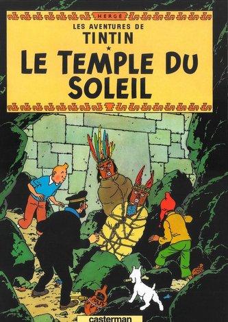 Tintin Le Temple du soleil