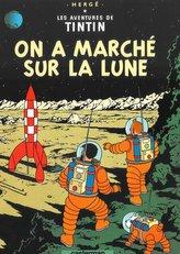Tintin on a marche sur la lune