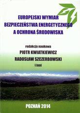 Europejski wymiar bezpieczeństwa energetycznego a ochrona środowiska