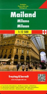 Mediolan plan miasta 1:12 500