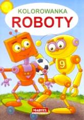 Kolorowanka - Roboty