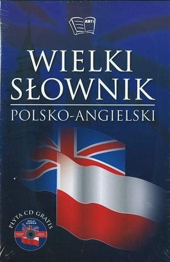 Wielki słownik polsko-angielski, angielsko-polski + CD gratis ( 2 tomy)