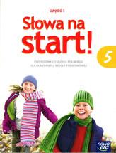Słowa na start. Klasa 5 Szk.podst. Język polski. Podręcznik część 1 2016