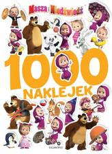 Masza i Niedźwiedź 1000 naklejek