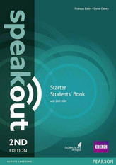 Speakout 2nd Starter.  Studentsbook + DVD-ROM