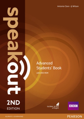 Speakout 2nd Advanced. Studentsbook +DVD-ROM