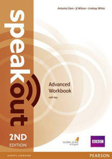 SPEAKOUT 2ED ADVANCED WB + KEY PEARSON 9781447976660
