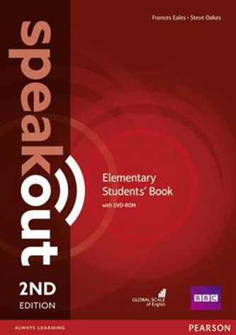 Speakout 2nd Elementary.  Studentsbook + DVD-ROM