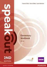 SPEAKOUT 2ED ELEMENTARY WB + KEY PEARSON 9781447976769