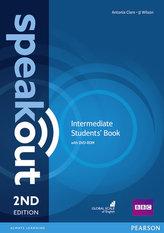 Speakout 2nd Intermediate. Studentsbook + DVD-ROM