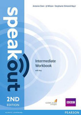 SPEAKOUT 2ED INTERMED. WB + KEY PEARSON 9781447976868