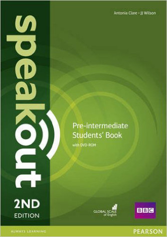 Speakout 2nd  Pre-Intermediate. Studentsbook + DVD-ROM