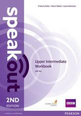 SPEAKOUT 2ED UPPER-INT. WB + KEY PEARSON 9781447977186