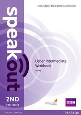 SPEAKOUT 2ED UPPER-INT. WB + KEY PEARSON 9781447977186