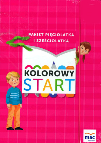 Kolorowy start. Roczne przygotowanie przedszkolne. Pakiet + Język angielski