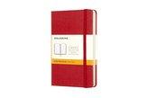 Notes P Moleskine Classic w linie czerwony