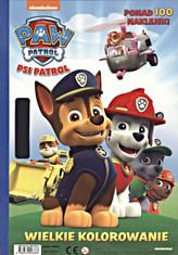 Psi Patrol. Wielkie kolorowanie