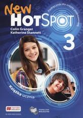 Hot Spot New 3. Szkoła podst. Język angielski. Podręcznik