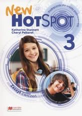 Hot Spot New 3. Szkoła podst. Język angielski. Zeszyt ćwiczeń