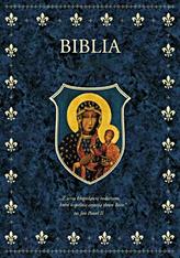 Biblia.  (Granat A4)