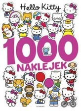 Hello Kitty. 1000 naklejek