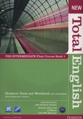 New Total English Pre-Intermediate Student's Book and Workbook