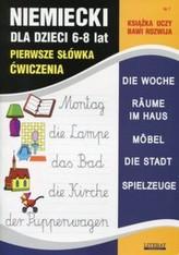 Język niemiecki dla dzieci 6-8 lat Pierwsze słówka Ćwiczenia