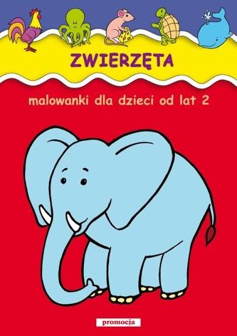 Zwierzęta Malowanki od lat 2