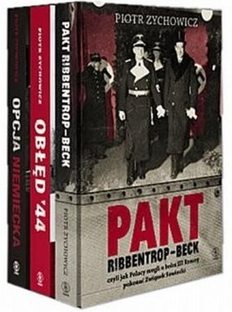 Pakiet Piotr Zychowicz - Pakt Ribbentrop-Beck / Obłęd 44 / Opcja niemiecka