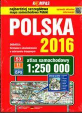 Atlas samochodowy Polska 2017 1:250 000