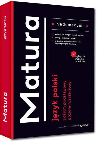 Vademecum matura - język polski - 2017   Czarne