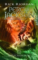 Percy Jackson. Tom II. Morze potworów