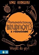 Pomarańczowy Brudnopis z różnościami