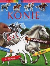 Konie Naklejkowe łamigłówki